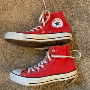 Converse All Star - Red, High top